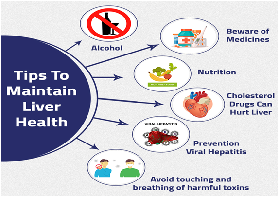 HEALTHY LIFESTYLE IS ALL THAT'S NEEDED FOR A HEALTHY LIVER