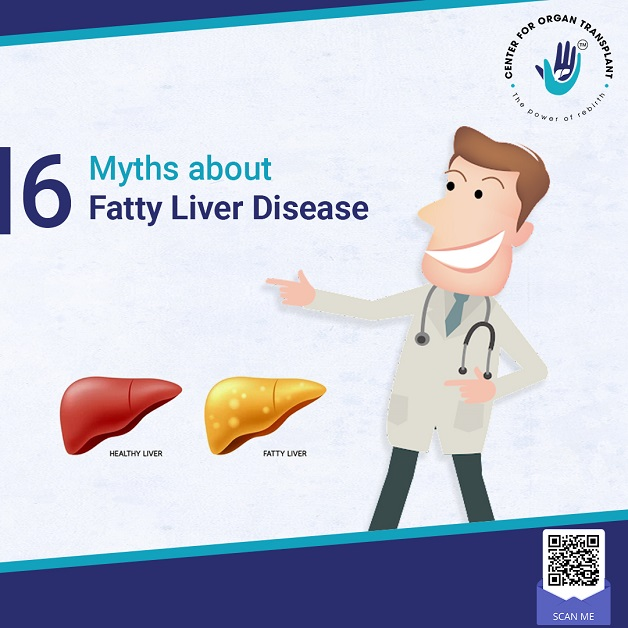 6 Myths About Fatty Liver Disease